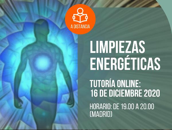 LIMPIEZAS ENERGÉTICAS (A distancia + tutoría online)